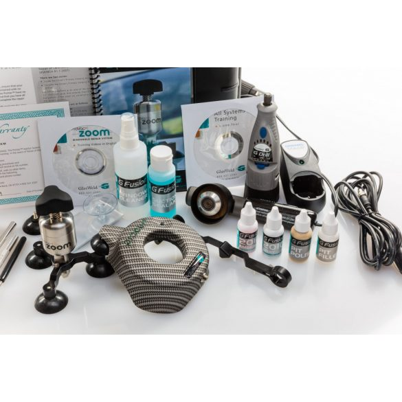 Glasweld professional szélvédő javító készlet